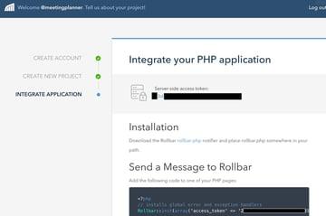Building Startups Logging - Rolbar Integrate Your PHP Application