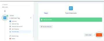 Assembla Zapier Automated Workflow - Connection Test Success