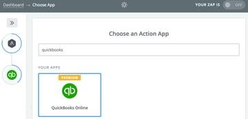 Assembla Zapier Automated Workflow - Choose an Action App