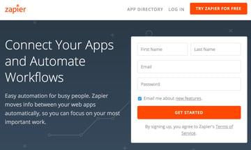 Assembla Zapier Automated Workflow - Zapier Home Page