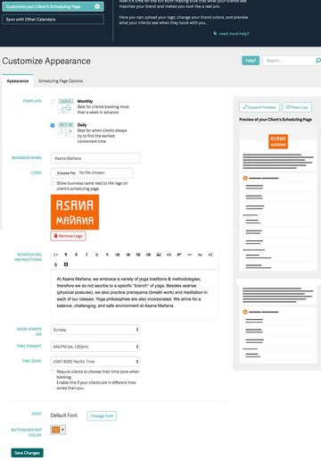 Acuity Scheduling Developers - Customize your Clients Scheduling Page