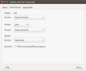 Sample File Properties