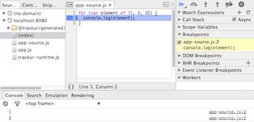 compiledjs screenshot