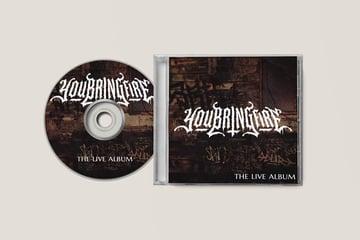 Death Metal Logo Album Cover