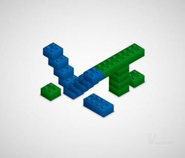 How to Create a 3D Lego Text Effect in Adobe Illustrator