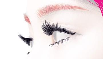 Add the eyelashes