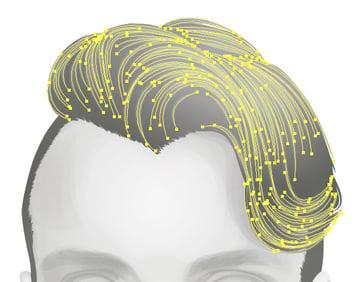 Adding hair strands