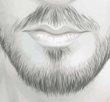 Finish off the beard