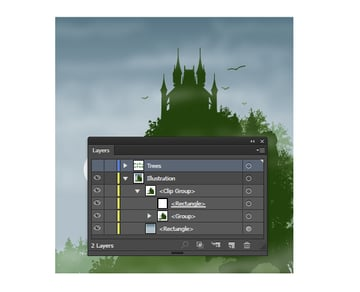 Add all of the shapes to a Clipping Mask