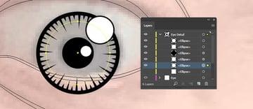 Eye details