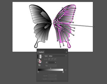 Adding gradients