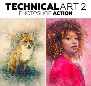 TechnicalArt Photoshop Action