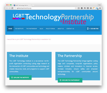 LGBT Technology Partnership Institute