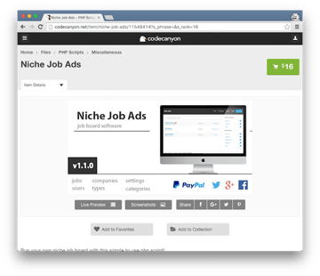 Niche Job Ads
