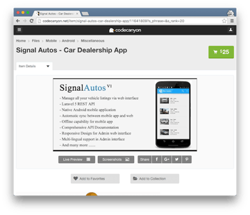 Signal Autos
