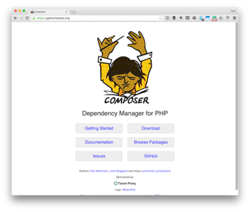 The Composer Homepage