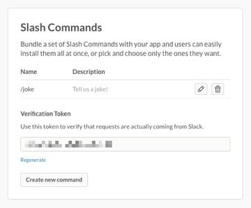 Slash Commands now include the joke command