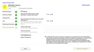 Privacy and Compliance