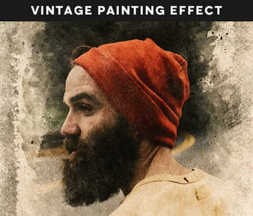 Vintage Painting Effect
