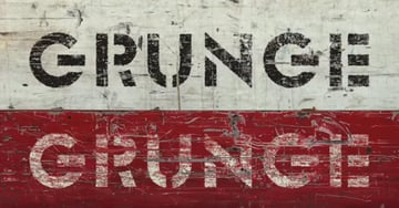 Text Effects of Grunge Style in Photoshop