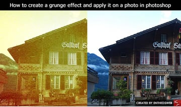 How to Create a Grunge Effect in Photoshop