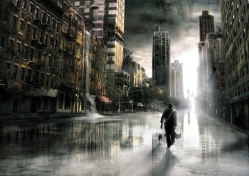 Making of Urban Landscapes in Photoshop