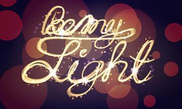 Light Painting Effect Adobe Illustrator Tutorial