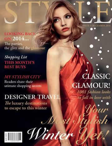 Design a Fashion Magazine Cover in Adobe InDesign