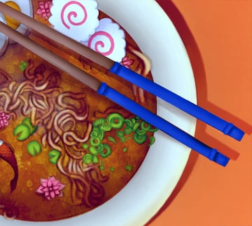 Change the Color of the Chopstick Handles