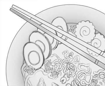 Add Ambient Occlusion Shading to Chopsticks