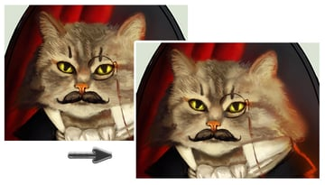Paint the Fur with Hard and Soft Brushes