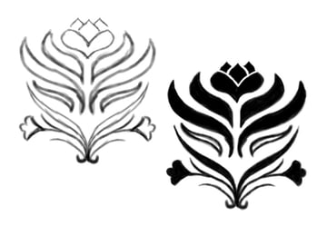 Sketch a Custom Damask Design in Photoshop and Fill it