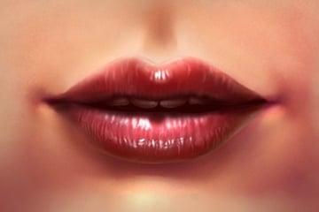 Lips Tutorial Art by Alice Catrinel Ciobatru