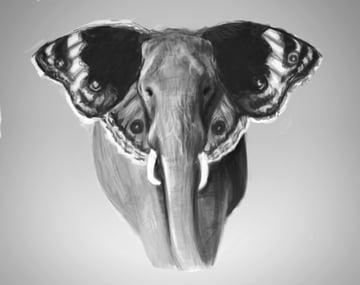 Create Grayscale Paintings in Photoshop to Establish Light and Shadow