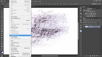 Go to Edit Define Brush Preset to Create a New Brush