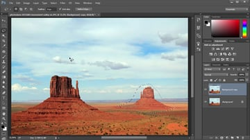 Use the Lasso Tool to Create a Selection