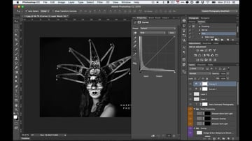 Press Play to Perform a Photoshop Action