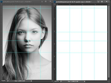 Using Rulers and Guidelines for Painting in Photoshop CC
