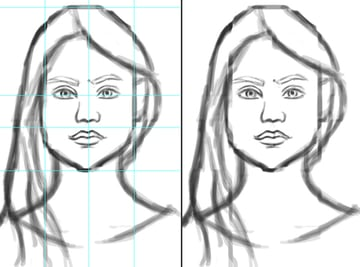 Creating Rough Portrait Sketches in Adobe Photoshop
