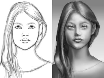 Shading Sketches in Adobe Photoshop