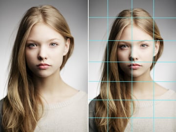 Digitally Paint Faces with Grids in Photoshop