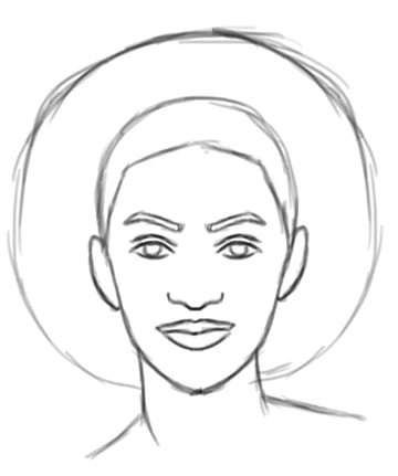 Draw the Sketch for Your Digital Painting