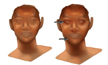 Paint More Red Tones For Realistic Skin