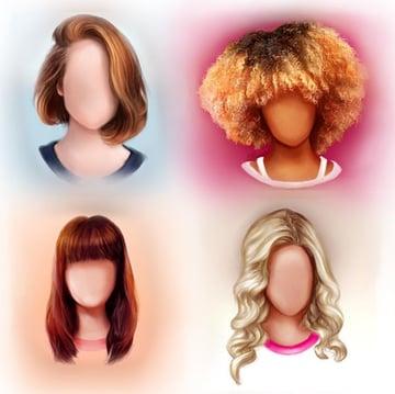 Hair Digital Painting Tutorial by Melody Nieves
