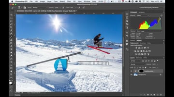 Adding a Layer Mask to Adjustment Layers