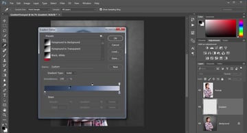 Using Gradients with the Gradient Editor