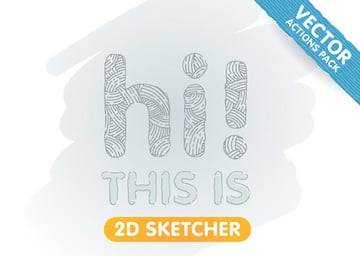 2D Sketcher - Vector Actions Pack