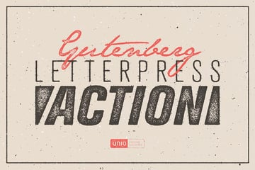 Gutenberg - Letterpress Action