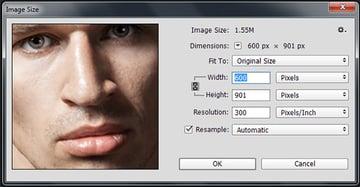 300 DPI Resolution for Digital Paintings