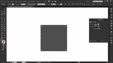 Stroke Fill and Opacity in the Appearance Panel